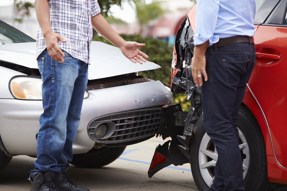 accident with uninsured driver