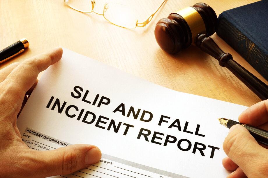 Slip and Fall Claim